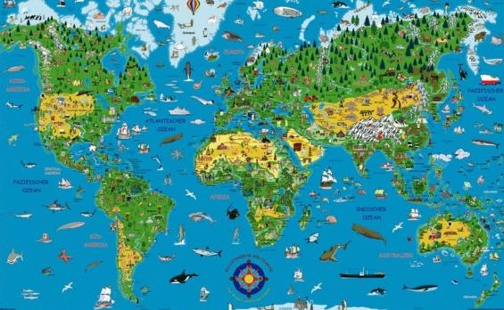 Bild 1.3 Weltkarte
