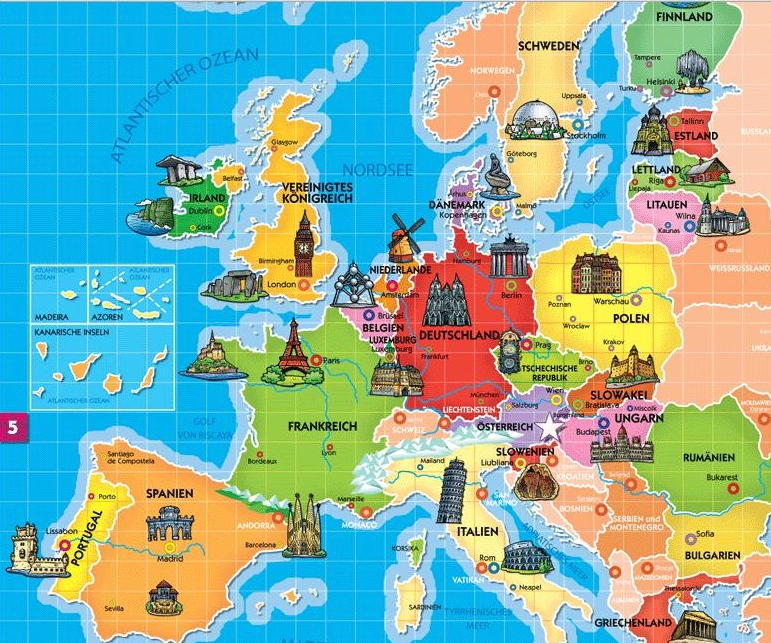 Bild 1.5 Europakarte