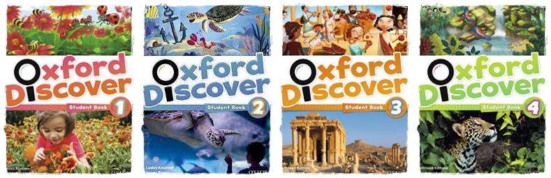 Course Oxford Discover 1-horz