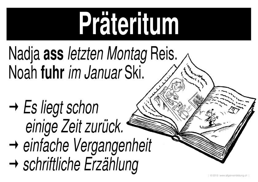 Grammatik Praeteritum