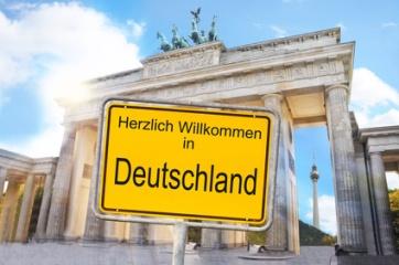 Herzlich willkommen in Deutschland